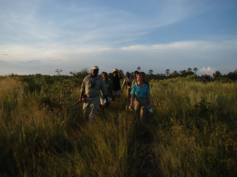 Guided tours Okavango Delta